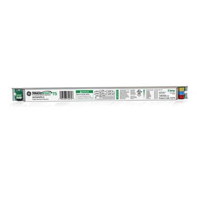 GE Lamps GE254MVPS-D UltraStart® Electronic Linear Fluorescent Ballast; 108 - 305 Volt, 2-Lamp, Programmed Rapid Start