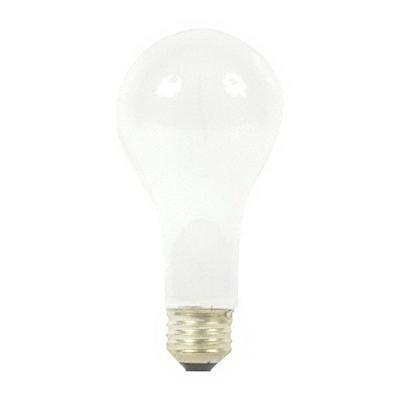 GE Lamps 200A21/99/IF-130 Quartzline® A-Line A21 Incandescent Lamp; 200 Watt, 130 Volt, Medium Screw (E26) Base, 2500/6800 Hour Life