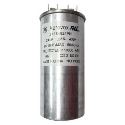 GE Lamps GECAP-24/480V-O 75668 Oil-Filled Capacitor; 480 Volt, 1000 Watt, 24 mF