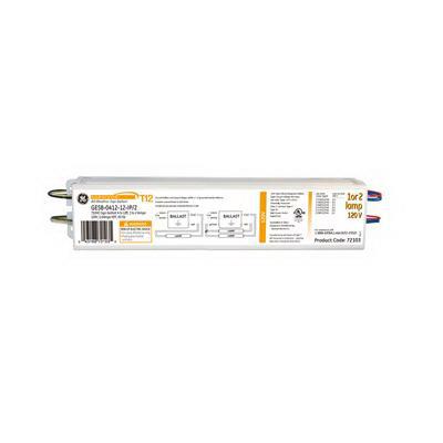 "GE Lamps GESB-0412-12-IP Survivor Magnetic Linear Fluorescent Sign Illuminating Ballast 2-Lamp, Rapid Start,"""