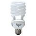 GE Lamps FLE26HT3/2/XL/CD Long Life Energy Smart® Self-Ballasted Spiral T3 Compact Fluorescent Lamp; 26 Watt, 120 Volt, 2700K, 82 CRI, Medium Screw (E26) Base, 12000 Hour Life, Soft White