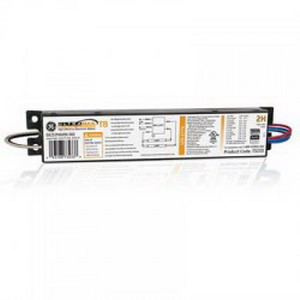 GE Lamps GE232MAX90-S60 73233 UltraMax® Electronic Linear Fluorescent Ballast; 120 - 277 Volt, 2-Lamp, Instant Start