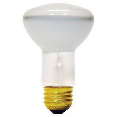 GE Lamps 30R20/1-120 Quartzline® R20 Incandescent Reflector Lamp; 30 Watt, 120 Volt, 2500K, Medium Screw (E26) Base, 2000 Hour Life