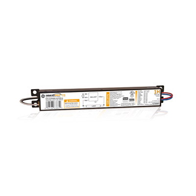 GE Lamps GE132MAX-H/ULTRA 63885 UltraMax® Electronic Linear Fluorescent Ballast; 120 - 277 Volt AC, 1-Lamp, Instant Start