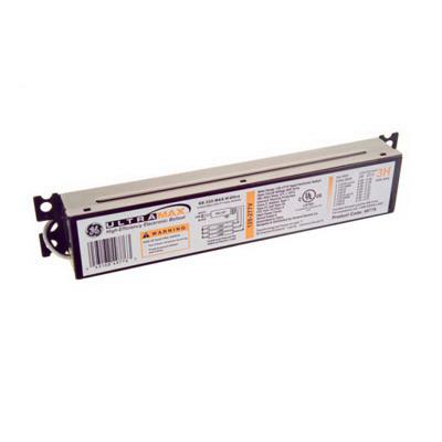 GE Lamps GE232MAX-H 73190 UltraMax® Electronic Linear Fluorescent Ballast; 120 - 277 Volt, 74 Watt At 120 Volt, 73 Watt At 277 Volt, 2-Lamp, Instant Start