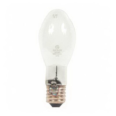 "GE Lamps LU150/55/D/H/ECO Lucalox Elliptical ED23.5 High Pressure Sodium Lamp 150 Watt, 110 Volt, 2000K, 22 CRI, Mogul Screw E39 Base, 24000 Hour Life,"""
