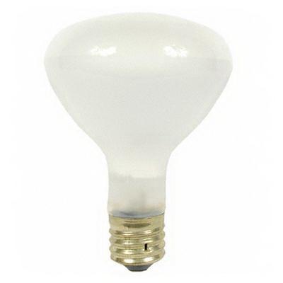 "GE Lamps 500R/3FL-130 Quartzline R40 Incandescent Reflector Lamp 500 Watt, 130 Volt, Mogul Screw E39 Base, 2000 Hour Life, Frosted,"""