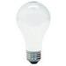 GE Lamps 53A/CL/H-120 A-Line A19 Halogen Lamp; 53 Watt, 120 Volt, 2950K, Medium Screw (E26) Base, 1000 Hour Life, Clear