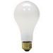 GE Lamps 100A/RS/STGPQ1/6-120 Saf-T-Gard® A-Line A21 Incandescent Lamp; 100 Watt, 120 Volt, Medium Screw (E26) Base, 1000 Hour Life