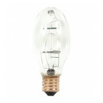 GE Lamps MVR400/VBUED28PA Multi-Vapor® PulseArc® Elliptical ED28 Quartz Metal Halide Lamp; 400 Watt, 4000K, 65 CRI, Mogul Screw (E39) Base, 20000 Hour Life, Clear