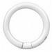 GE Lamps FC8T9/CW Quartzline® Circline T9 Fluorescent Lamp; 22 Watt, 61 Volt, 4100K, 60 CRI, 4-Pin (G10q) Base, 12000 Hour Life