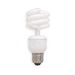 GE Lamps FLE14HT3/2/827 Self-Ballasted T3 Compact Fluorescent Lamp; 14 Watt, 120 Volt, 2700K, Medium Screw (E26) Base, 10000 Hour Life