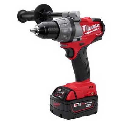 Milwaukee Tool  2603-22 M18 Fuel™ Drill/Driver Kit; 18 Volt, 7.9 Inch Length X 1/2 Inch Chuck, 725 Inch-Lb Torque, Redlithium&Trade; Xc4.0 Battery