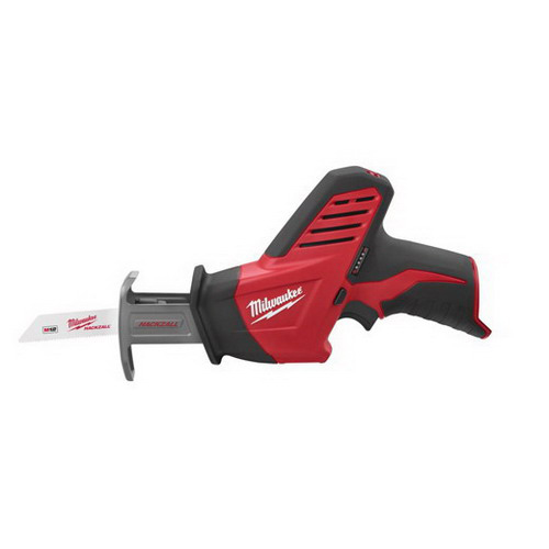 Milwaukee Tool  2420-20 M12™ Hackzall® Keyless Blade Clamp Reciprocating Saw; 12 Volt, 11 Inch Length