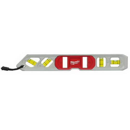 Milwaukee Tool  48-22-5009 Strong Earth Magnet Torpedo Level; 10 Inch