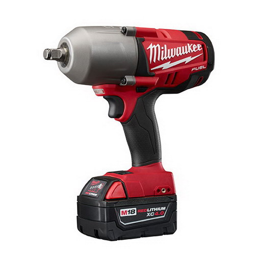 Milwaukee Tool  2763-22 M18 Fuel™ High-Torque Variable Speed Trigger Switch Impact Wrench; 18 Volt, 100/700 Ft-Lb Torque