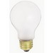 Satco S3952 A-Line A19 Incandescent Lamp; 60 Watt, 130 Volt, Medium Screw (E26) Base, 2500 Hour Life, Frosted