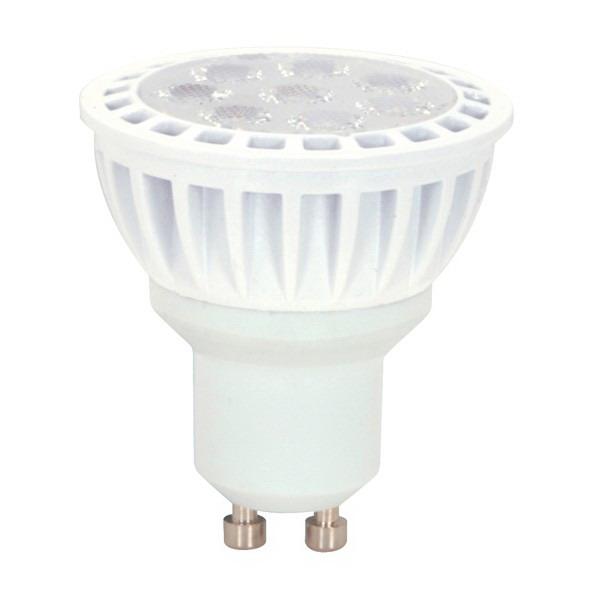 Satco S9096 Reflector MR16 LED Lamp 7 Watt  120 Volt  3000K  80 CRI  Bi-Pin GU10 Base  25000 Hour Life