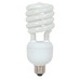 Satco S7332 T4 Compact Fluorescent Lamp; 32 Watt, 120 Volt, 4100K, 82 CRI, Medium Screw (E26) Base, 10000 Hour Life