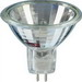 Satco S1960 MR16 Halogen Lamp; 50 Watt, 12 Volt, 100 CRI, GU5.3/GX5.3 Miniature Bi-Pin Round Base, 2000 Hour Life, Clear