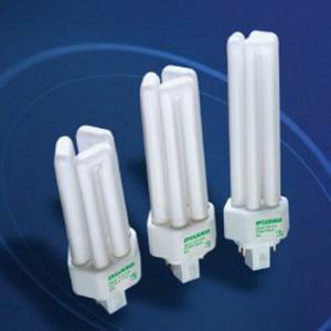 Sylvania CF42DT/E/IN/835/ECO Dulux® EL Triple Amalgam T4X3 Compact Fluorescent Lamp; 42 Watt, 120 Volt, 3500K, 80 CRI, GX24q-4 Base, 15000 Hour Life, Phosphor Coated