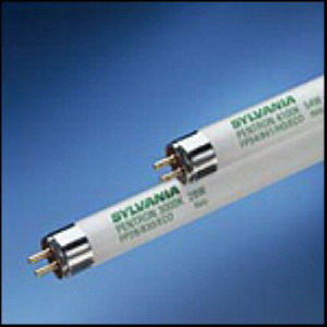 Sylvania FP28/835/ECO Pentron® ECO® T5 Linear Fluorescent Lamp; 28 Watt, 3500K, 85 CRI, Miniature Bi-Pin (G5) Base, 25000/30000 Hour Life, Phosphor Coated