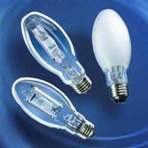 Sylvania MP100/U/MED Metalarc Pro-Tech® E17 Metal Halide Lamp; 100 Watt, 100 Volt, 3000K, 75 CRI, Medium Screw (E26) Base, 10000/15000 Hour Life, Coated