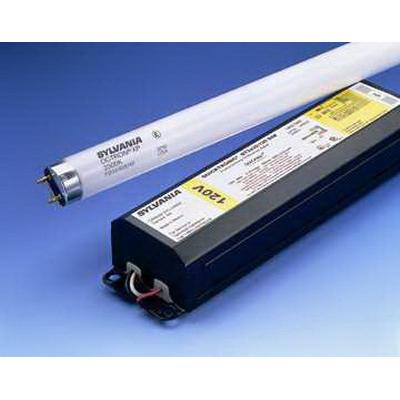 Sylvania FO17/841/ECO Octron® 800 T8 Linear Fluorescent Lamp; 17 Watt, 4100K, 82 CRI, Medium Bi-Pin (G13) Base, 30000 Hour Life, Phosphor Coated