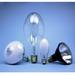 Sylvania H33GL-400/DX ED37 Mercury Vapor Lamp; 175 Watt, 4000K, 43 CRI, Mogul Screw (E39) Base, 24000 Hour Life, Coated