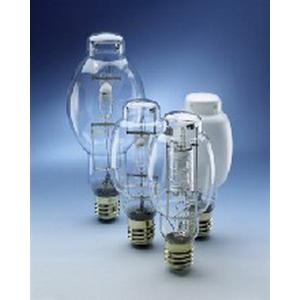 Sylvania M175/PS/U Metalarc® BT28 Quartz Metal Halide Lamp; 175 Watt, 4500K, 65 CRI, Mogul Screw (E39) Base, 9000/12000 Hour Life, Clear