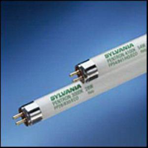 Sylvania FP28/841/ECO Pentron® ECO® T5 Linear Fluorescent Lamp; 28 Watt, 4100K, 85 CRI, Miniature Bi-Pin (G5) Base, 30000 Hour Life, Phosphor Coated