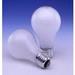 Sylvania 60A/RS/2/RP-120V Rough Service A-Line A19 Incandescent Lamp; 60 Watt, 120 Volt, 2850K, 100 CRI, Medium Screw (E26) Base, 1000 Hour Life, Inside Frosted