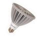 Sylvania LED18PAR38/DIM/827/FL40 PAR38 LED Reflector Lamp; 18 Watt, 120 Volt, 2700K, 84 CRI, Medium Screw (E26) Base, 50000 Hour Life, White
