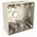 Raco 5337-1 2-Gang Weatherproof Box; 5 Outlet