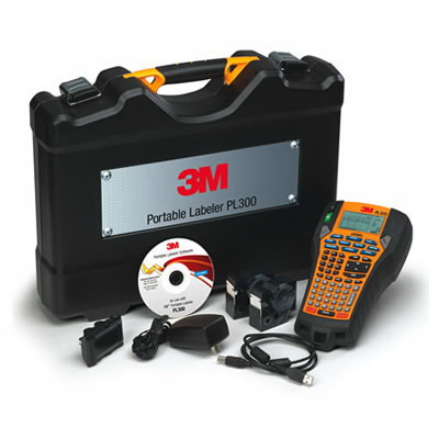 3M PL300K Portable Labeler Kit; 0.250 - 1 Inch Tape Width