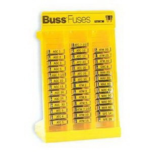 Bussmann NO.200 Fuse Assortment Kit 6.750 Inch Length x 4 Inch Width x 10 Inch Height