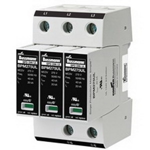 Bussmann BSPM2240S3GR Made Simple™ Surge Protective Device; 200 Kilo-Amp, 127/254 Volt AC, 1 Phase, DIN Rail Mount