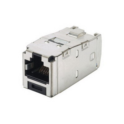 Panduit CJS688TGY Mini-Com® TX6™ Category 6 Jack Module; 8P8C, Black