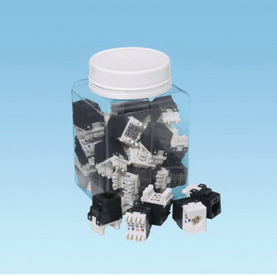 Panduit NK688MBU-Q NetKey® Category 6 Jack Module; 8P8C, Blue
