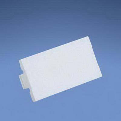 Panduit CHB2MIW-X Mini-Com® 1/3-Size Blank Insert; Plastic, Off White