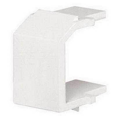 Panduit NKBMWH-X NetKey® Blank Keystone Module; White
