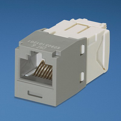 Panduit CJ688TGIG Mini-Com TX6 Category 6 RJ45 Jack Module 8P8C International Gray