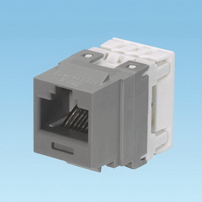 Panduit NK688MIG NetKey® Category 6 Jack Module; 8P8C, International Gray