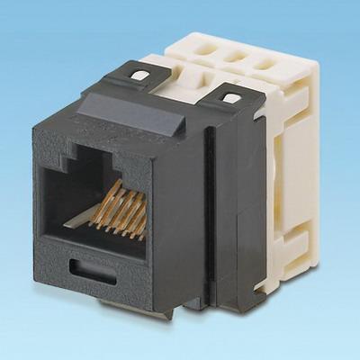 Panduit NK688MBL NetKey® Category 6 Jack Module; 8P8C, Black
