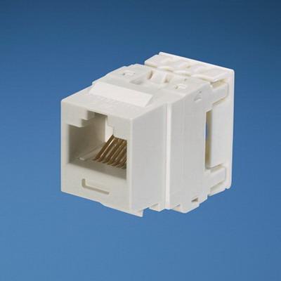Panduit NK688MWH NetKey® Category 6 Jack Module; 8P8C, White