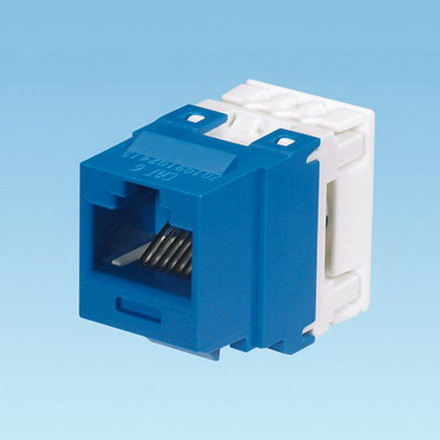Panduit NK688MBU NetKey® Category 6 Jack Module; 8P8C, Blue