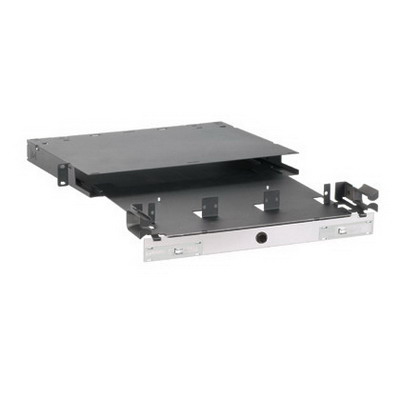 Panduit FRME1U Opticom® Rack Mount Fiber Enclosure; 36-Port1-Rack Unit, Black