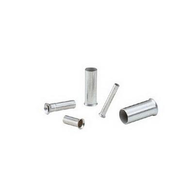 Panduit F78-7-M Ferrule; 16 AWG, 0.28125 Inch Strip, Non-Insulated, Copper