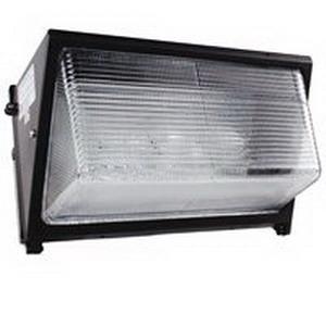 Intermatic WML250PQL WML Series Metal Halide Wallpack; 250 Watt, Dark Bronze Polyester Powder-Coated, Lamp Included