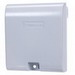 Intermatic WP1030MXD Xtra Tough Extra-Duty 2-Gang Weather Proof Receptacle Cover; Rectangular, Die-Cast Aluminum, Gray